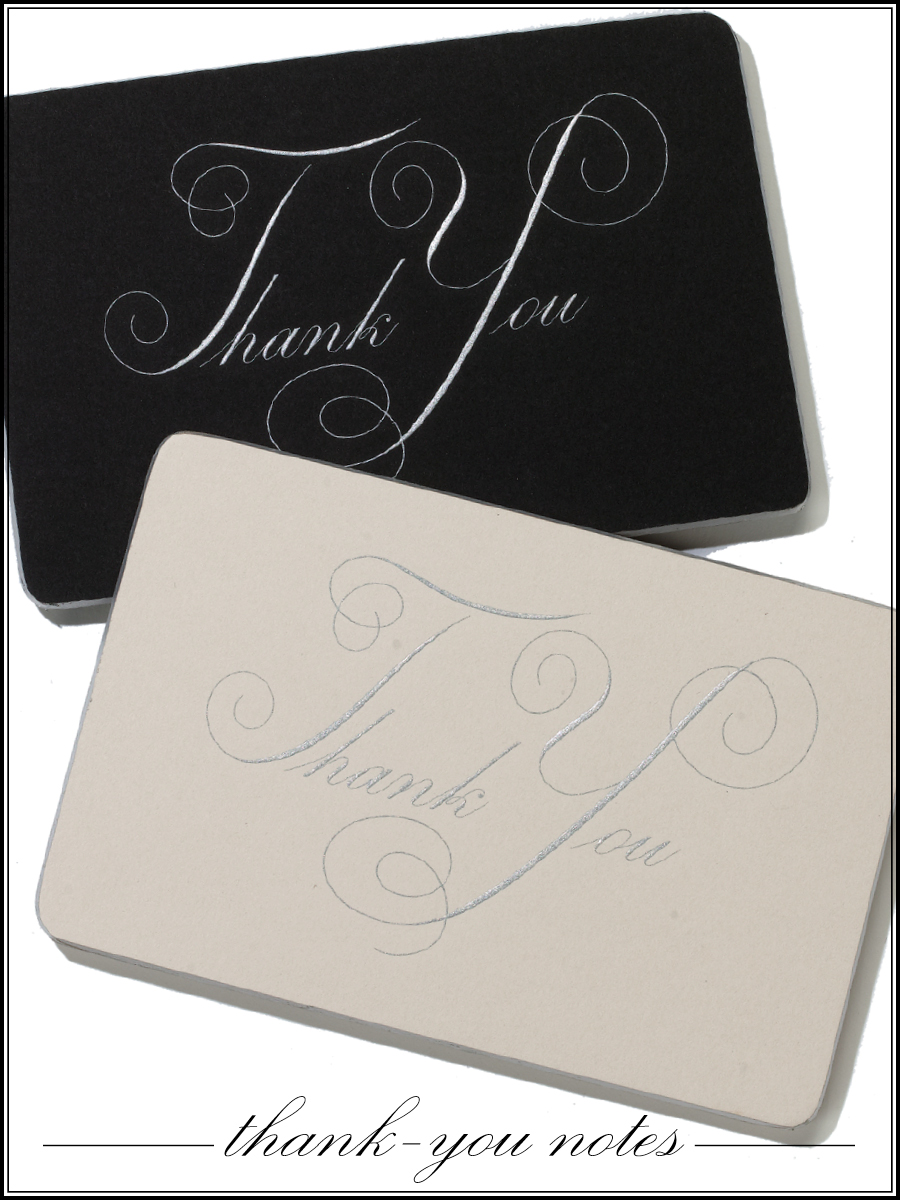 Proper Etiquette for Writing and Addressing Your Wedding Thank You Notes