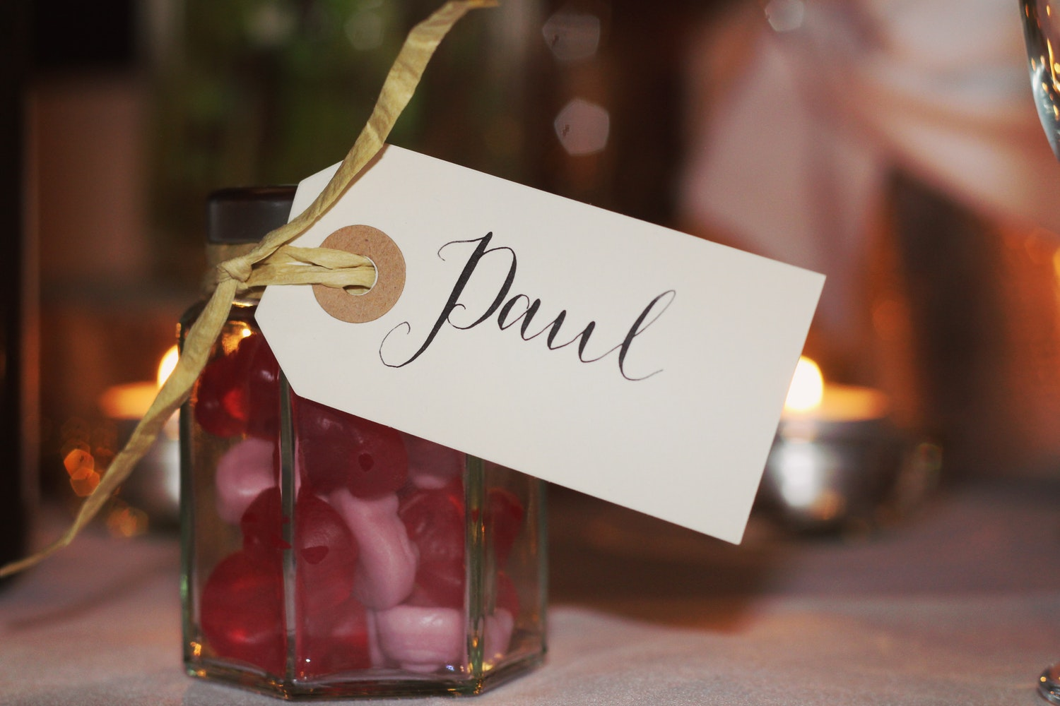Guide to Wedding Favors